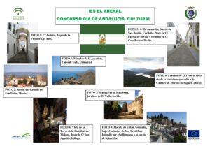 Solución del concurso de Andalucía Cultural.