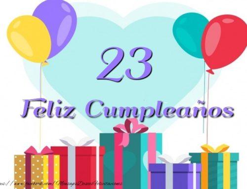 Celebración 23 Cumpleaños de la Ley 31/95 de Prevención de Riesgos Laborales.