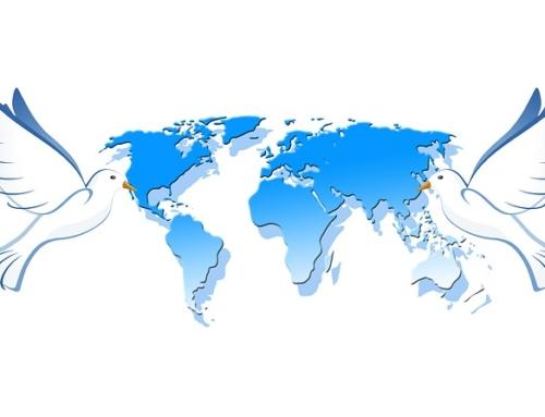 Celebración del Día Internacional de La Paz.