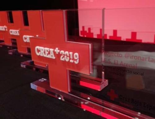 Recogida del Premio CREA+2019.