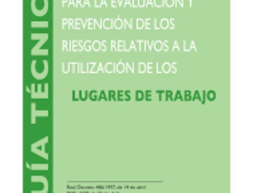 Prácticas RDCS. Comprobación de instalaciones, cumplimiento del RD 486/97