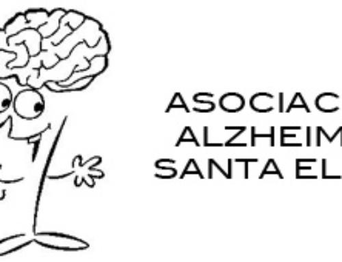 Agradecimiento de la Asociación Alzheimer Santa Elena.