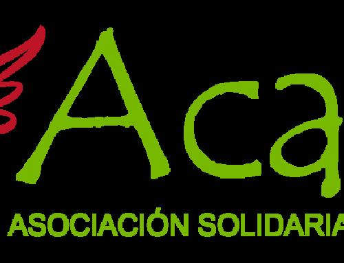 Recogida de logo Asociación ACAYE.