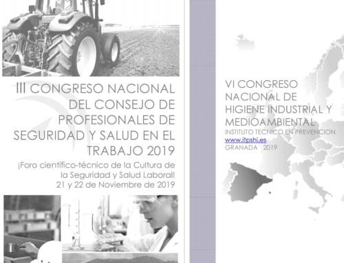 Visita al III Congreso Nacional del Consejo de Profesionales de Seguridad y Salud en el Trabajo 2019.
