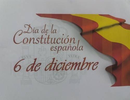 Actos por el día de la Constitución.