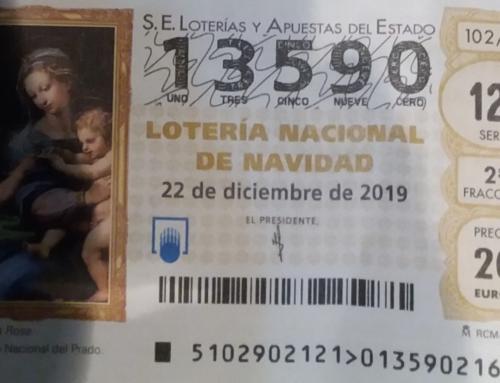 Premio Lotería de Navidad.