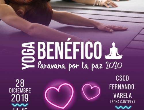 Yoga Benéfico Caravana por la Paz 2020.
