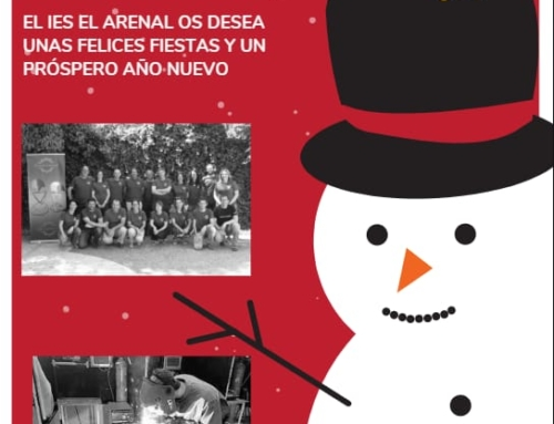 @ironartarenal os desea Feliz Navidad.