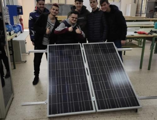 Práctica de Montaje de Estructura Solar Fotovoltaica.