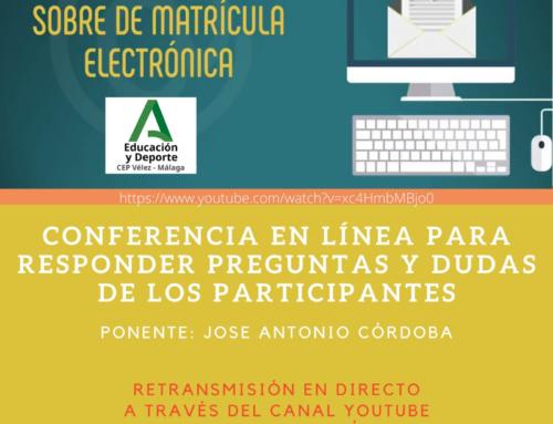 Matriculación Electrónica.