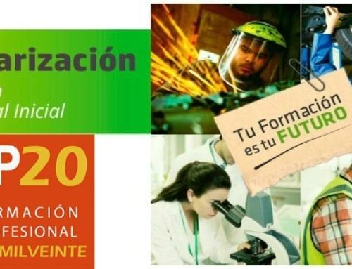 Tramites nuevos en Secretaría Virtual. Matriculación FP 2020.