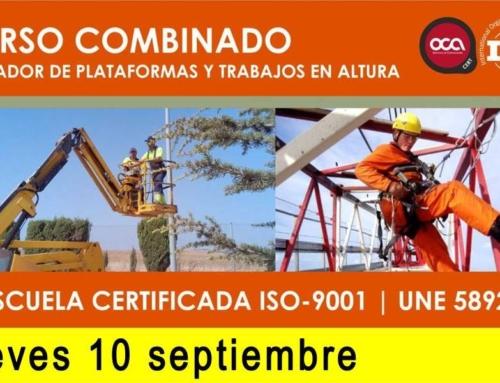 Curso Plataformas y Trabajos en Altura.
