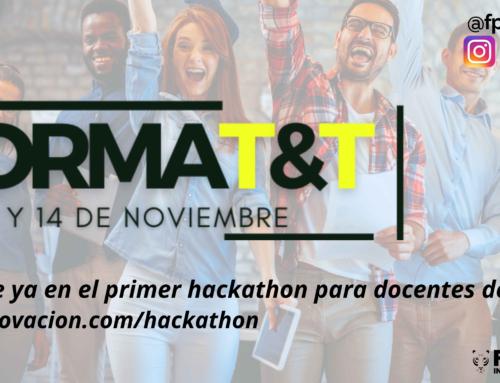 I Hackathon para profesorado de FP (FORMAT&T) a nivel nacional