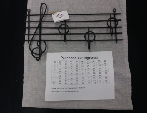 Sorteo Perchero Musical.