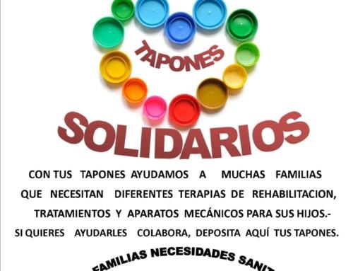 Tapones Solidarios.