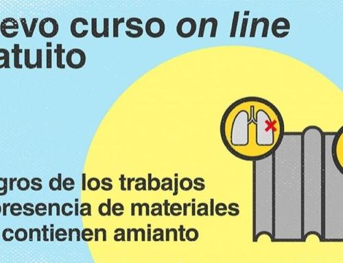 Curso gratuito Peligros del Amianto en los trabajos de Construcción.