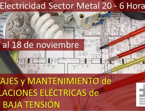 Curso Electricidad Sector Metal.