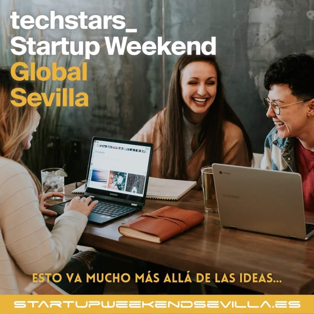 Techstars Startup Weekend Sevilla.
